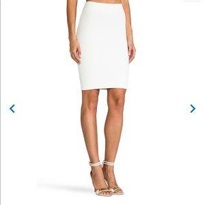 BCBGMaxAzria white pencil skirt XS